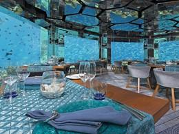 Vivez l'expérience d'un dîner sous l'eau