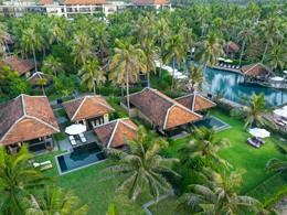 Vue de l'Anantara Mui Ne, une adresse au charme authentique