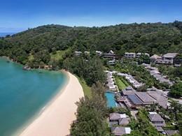 Vue aérienne de Anantara Phuket Layan Resort & Spa en Thailande