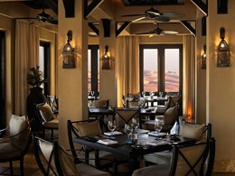 Ghadeer Restaurant de l'Anantara Qasr Al Sarab