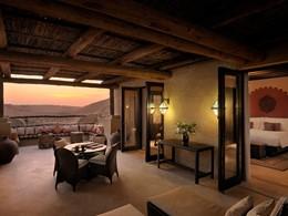 Deluxe avec Terrasse de l'Anantara Qasr Al Sarab
