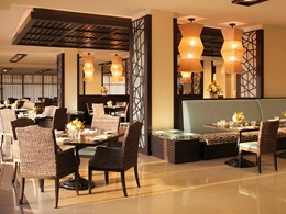 Restaurant Crescendo de l'hôtel Anantara à Dubai