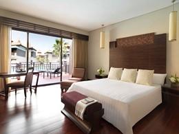 Chambre Premier Lagoon Access de l'Anantara Dubai