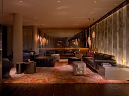 Le lounge de l'hôtel Andaz West Hollywood à Los Angeles