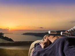 Soins et massages au coucher de soleil