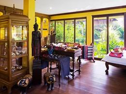 La boutique de l'Angkor Village Hotel à Siem Reap