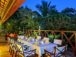 Autre vue du restaurant Le Jardin de l'Angkor Village Resort