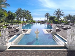 La piscine de l'hôtel Angsana Resort & Spa