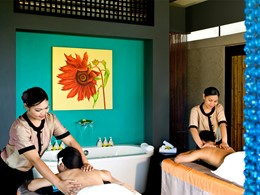Massage au spa de l'hôtel Angsana Resort & Spa