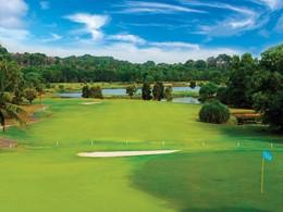 Le terrain de golf de l'hôtel Angsana Resort