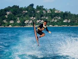 Activité nautique de l'Angsana Resort & Spa