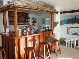 Bar de l'hôtel Anse Soleil Beachcomber aux Seychelles