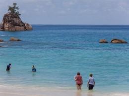 Snorkeling à l'Anse Soleil Beachcomber à Mahé