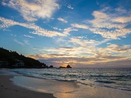 Autre vue de la plage de l'Anse Soleil Beachcomber