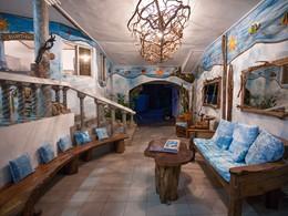 Lobby de l'Anse Soleil Beachcomber aux Seychelles