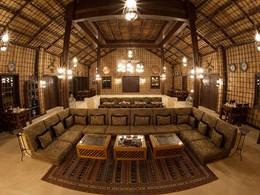 Le restaurant Al Maqam de l'Arabian Nights Village à Abu Dhabi