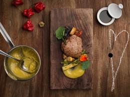 Gastronomie portugaise à l'hôtel Areias do Seixo