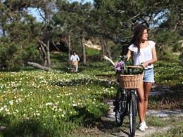 Balade à vélo à l'hôtel Areias do Seixo au Portugal
