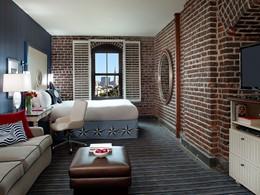 La chambre Deluxe avec vue sur les collines de San Francisco