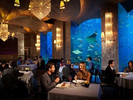 Restaurant Ossiano de l'hôtel Atlantis The Palm