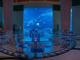 Poseidon Café de l'Atlantis The Palm à Dubaï