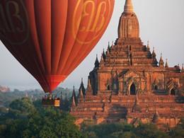 Explorer le site archéologique de Bagan