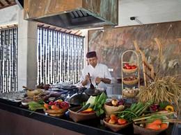 Cours de cuisine à l'hôtel