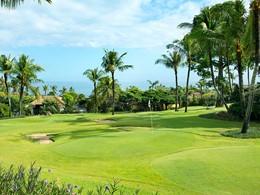Parcours de golf miniature