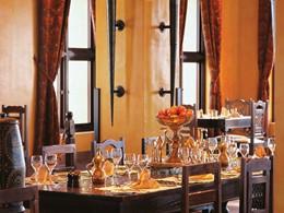 Le restaurant Al Forsan du Bab Al Shams Hotel à Dubaï