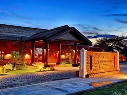 L'entrée du Bagan Lodge