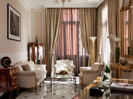 Family Suite du Baglioni Hotel Regina, en Italie