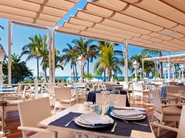 Spécialités méditerranéennes au Beach Club du Bahia del Duque