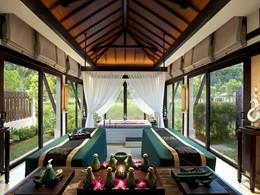 Le spa de l'hôtel 5 étoiles Banyan Tree Lang Co
