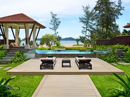 Beach Pool Villa du Banyan Tree Lang Co au Vietnam