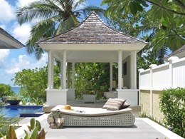 La Beachfront Pool Villa avec vue sur le bain à remous