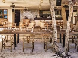 Le restaurant Maresias du Be Tulum Hotel au Mexique