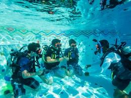 Cours de plongée de l'hôtel Beaches à Turks and Caicos