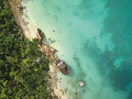 Belle plage d'Anguilla