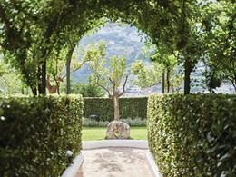 Le jardin verdoyant du Belmond Hotel Caruso