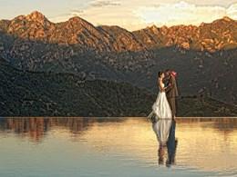 Mariage dans un cadre d'une rare beauté