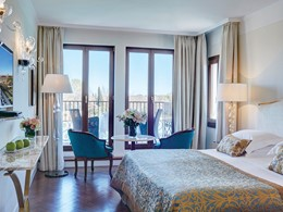 Double Lagoon View Room with Balcony