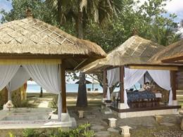 Massage en plein air à l'hôtel Belmond Jimbaran
