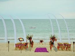 Mariage à l'hôtel Belmond Jimbaran Puri Bali