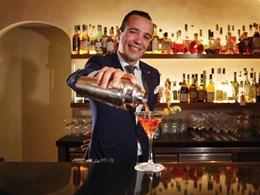 Délicieux cocktails au bar