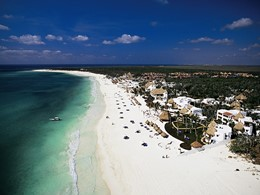 Vue du Belmond Maroma situé sur la péninsule du Yucatan