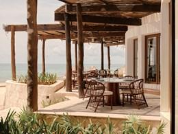 Restaurant de l'hôtel Belmond Maroma au Mexique