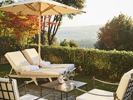 Rafraichissez vous au Garden Bar du Belmond Villa San Michele