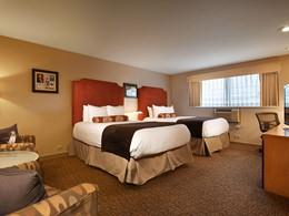 Queen Room du Best Western Plus Hollywood Hills à Los Angeles