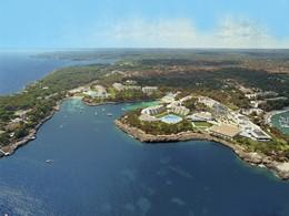 Vue aérienne de l'hôtel Blau Privilege PortoPetro