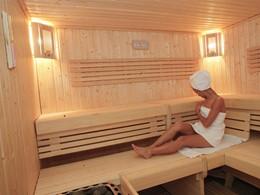 Sauna de l'hôtel Blau Privilege PortoPetro situé aux Baléares